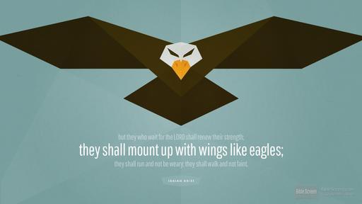 Isaiah-eagle